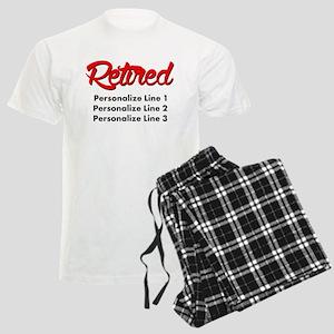 Retired Custom Men's Light Pajamas