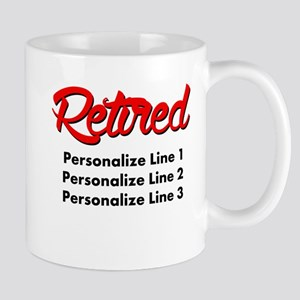 Retired Custom Mug