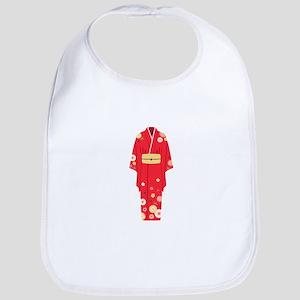 Red Kimono Bib