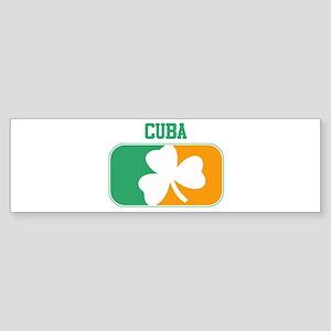 CUBA irish Bumper Sticker