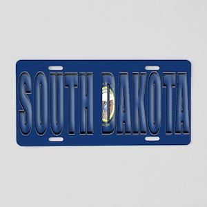 South Dakota ALP Aluminum License Plate