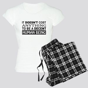 It Doesn't Cost Anything To Women's Light Pajamas