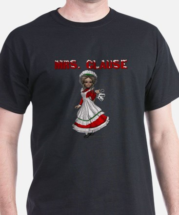 Mrs. Clause Army Wife 5 T-Shirt