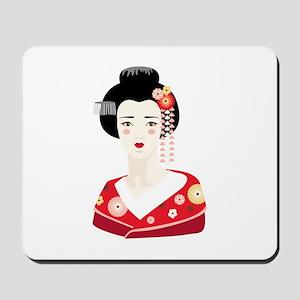 Japanese Geisha Mousepad