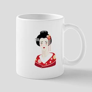 Japanese Geisha Mugs