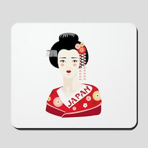 Japan Geisha Mousepad