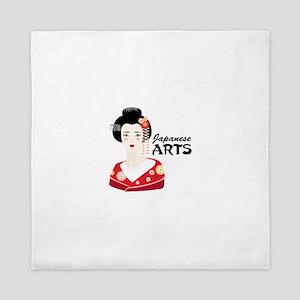 Japanese Arts Queen Duvet