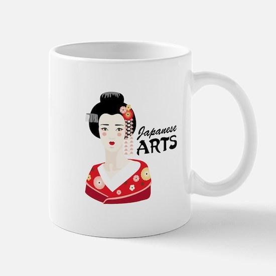 Japanese Arts Mugs