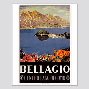 Vintage Bellagio Travel Poster Posters