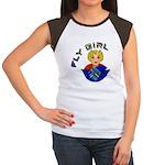 Fly Girl Women's Cap Sleeve T-Shirt