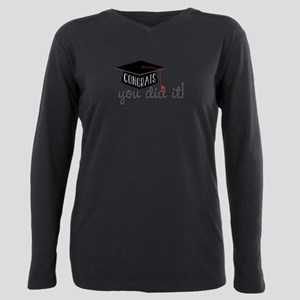 You Did It! Plus Size Long Sleeve Tee