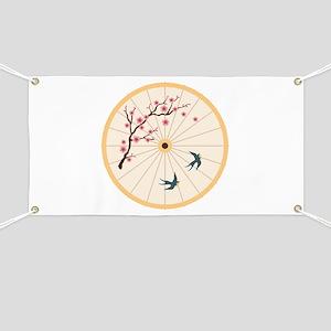 Oriental Umbrella Banner