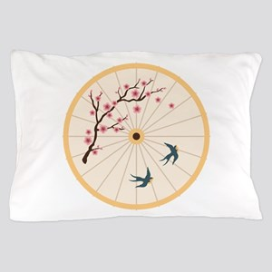 Oriental Umbrella Pillow Case