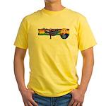 Fly Girl Yellow T-Shirt