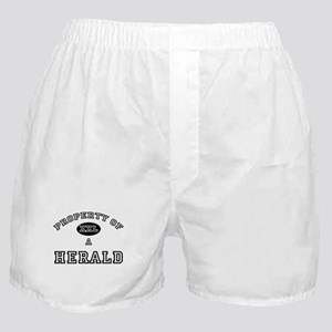 Property of a Herald Boxer Shorts