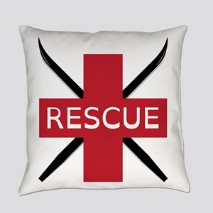 Ski Rescue Everyday Pillow