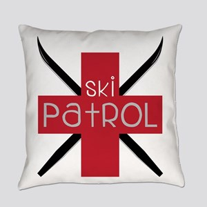 Ski Patrol Everyday Pillow