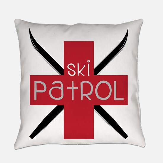 Ski Patrol Everyday Pillow