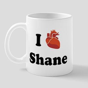I (Heart) Shane Mug