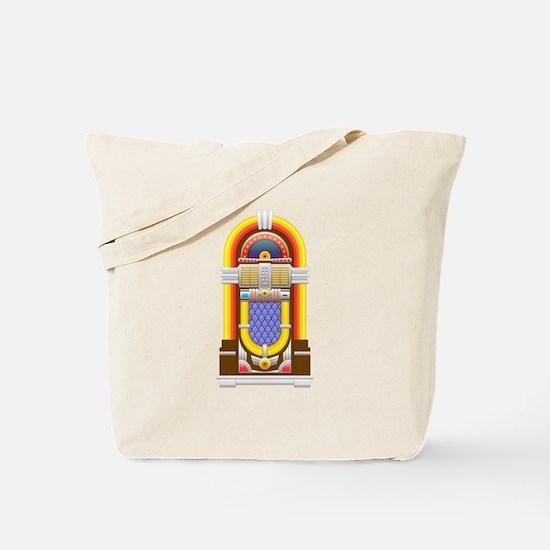 50s jukebox Tote Bag