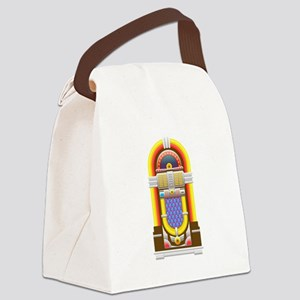 50s jukebox Canvas Lunch Bag