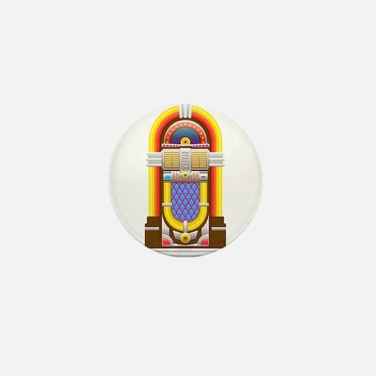 50s jukebox Mini Button