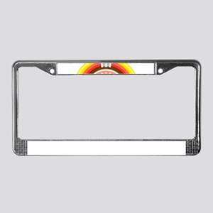 50s jukebox License Plate Frame