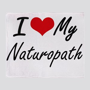 I love my Naturopath Throw Blanket