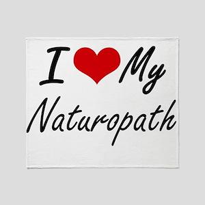 I love my Naturopath Throw Blanket
