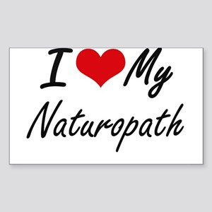 I love my Naturopath Sticker