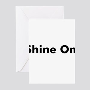 Shine Om Greeting Cards (Pk of 10)