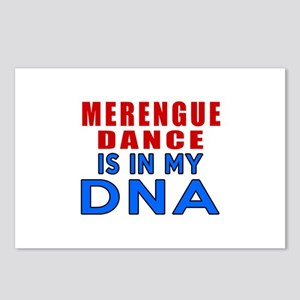 Merengue dance is in my D Postcards (Package of 8)