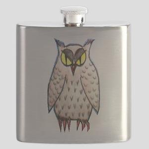The Elusive Owl Flask