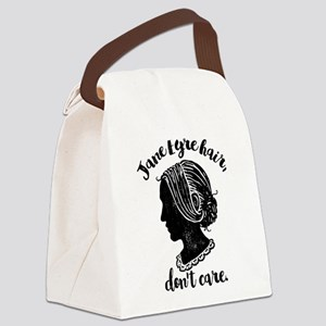 Jane Eyre Hair Don't Care Canvas Lunch Bag