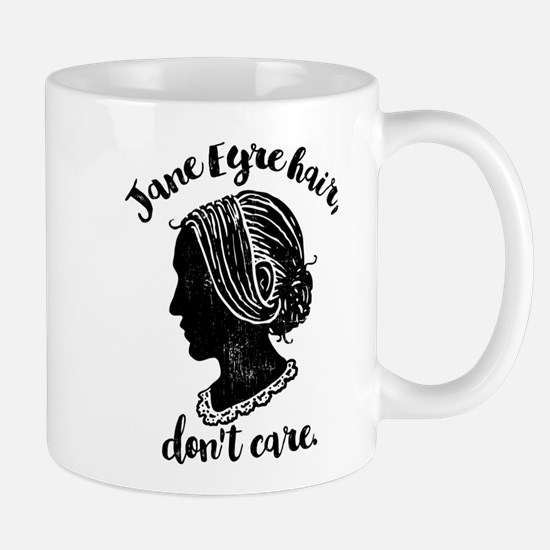 Jane Eyre Hair Don't Care Mugs