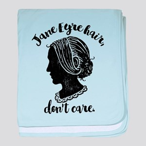 Jane Eyre Hair Don't Care baby blanket