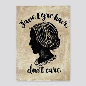 Jane Eyre Hair Don't Care 5'x7'Area Rug