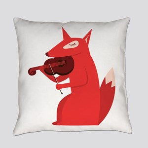 Music Fox Everyday Pillow