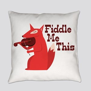 Fiddle Me This Everyday Pillow