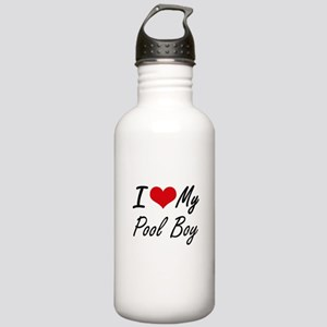 I love my Pool Boy Stainless Water Bottle 1.0L