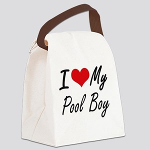 I love my Pool Boy Canvas Lunch Bag