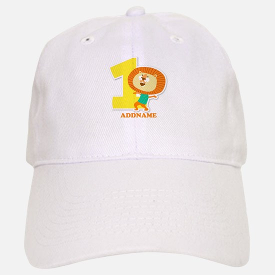 1st Birthday Personalized Name Baseball Baseball Cap
