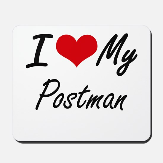 I love my Postman Mousepad