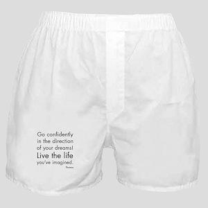 Go Confidently Boxer Shorts