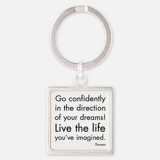 Go Confidently Keychains