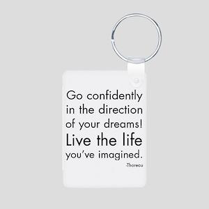 Go Confidently Keychains