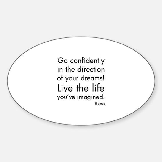 Go Confidently Decal