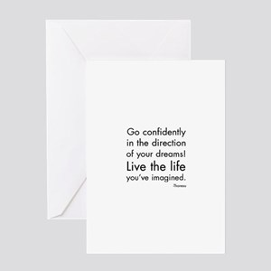 Go Confidently Greeting Cards