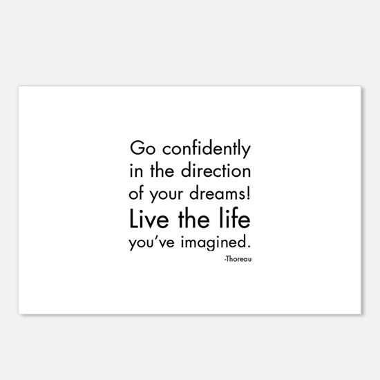 Go Confidently Postcards (Package of 8)
