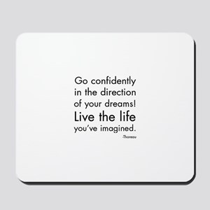 Go Confidently Mousepad